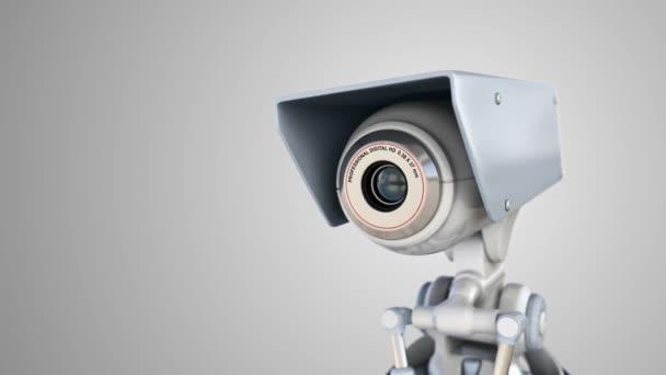 Fotoaparát člověka koncept