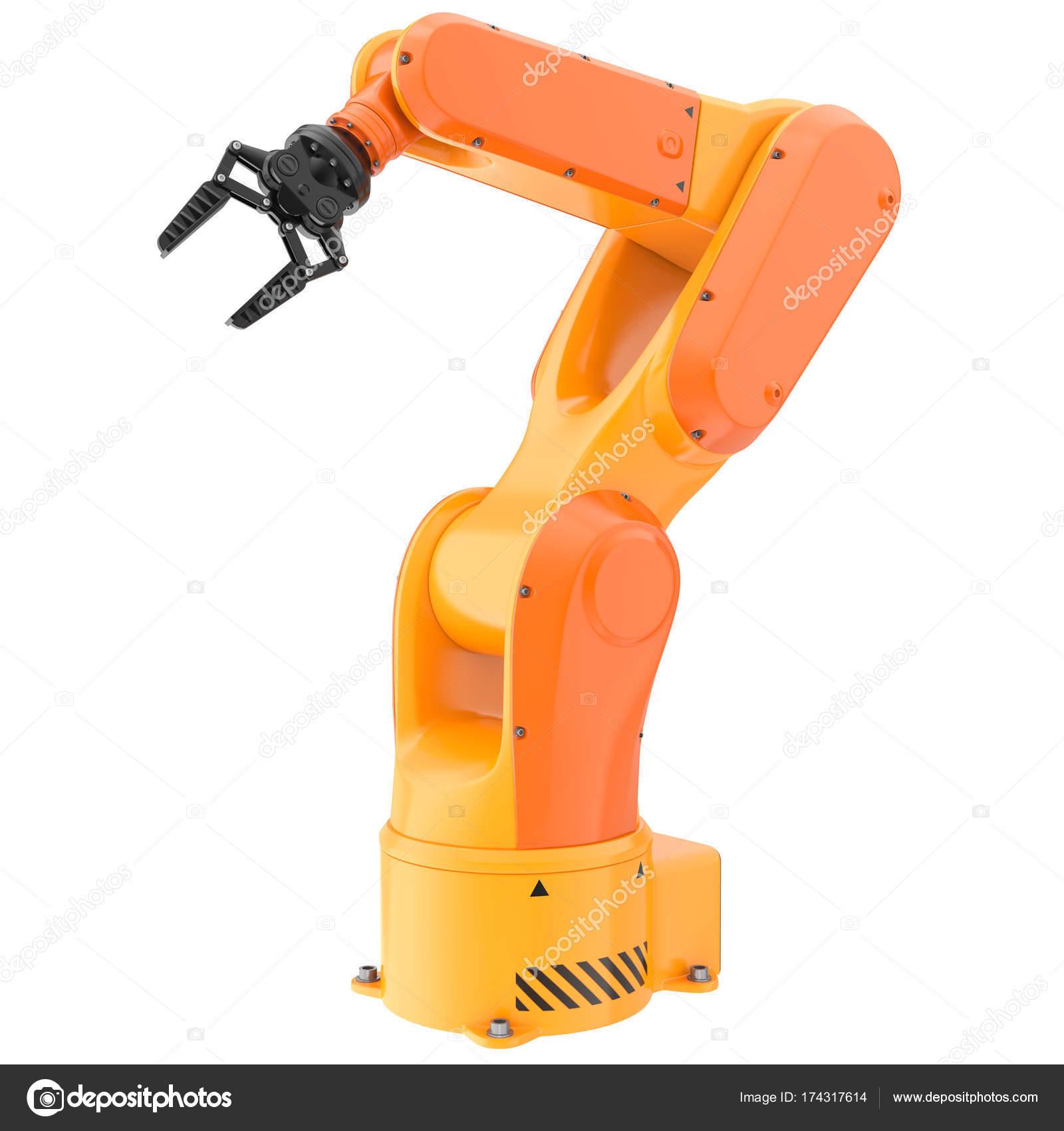 Industrial robot arm — Stock Photo © iLexx #174317614