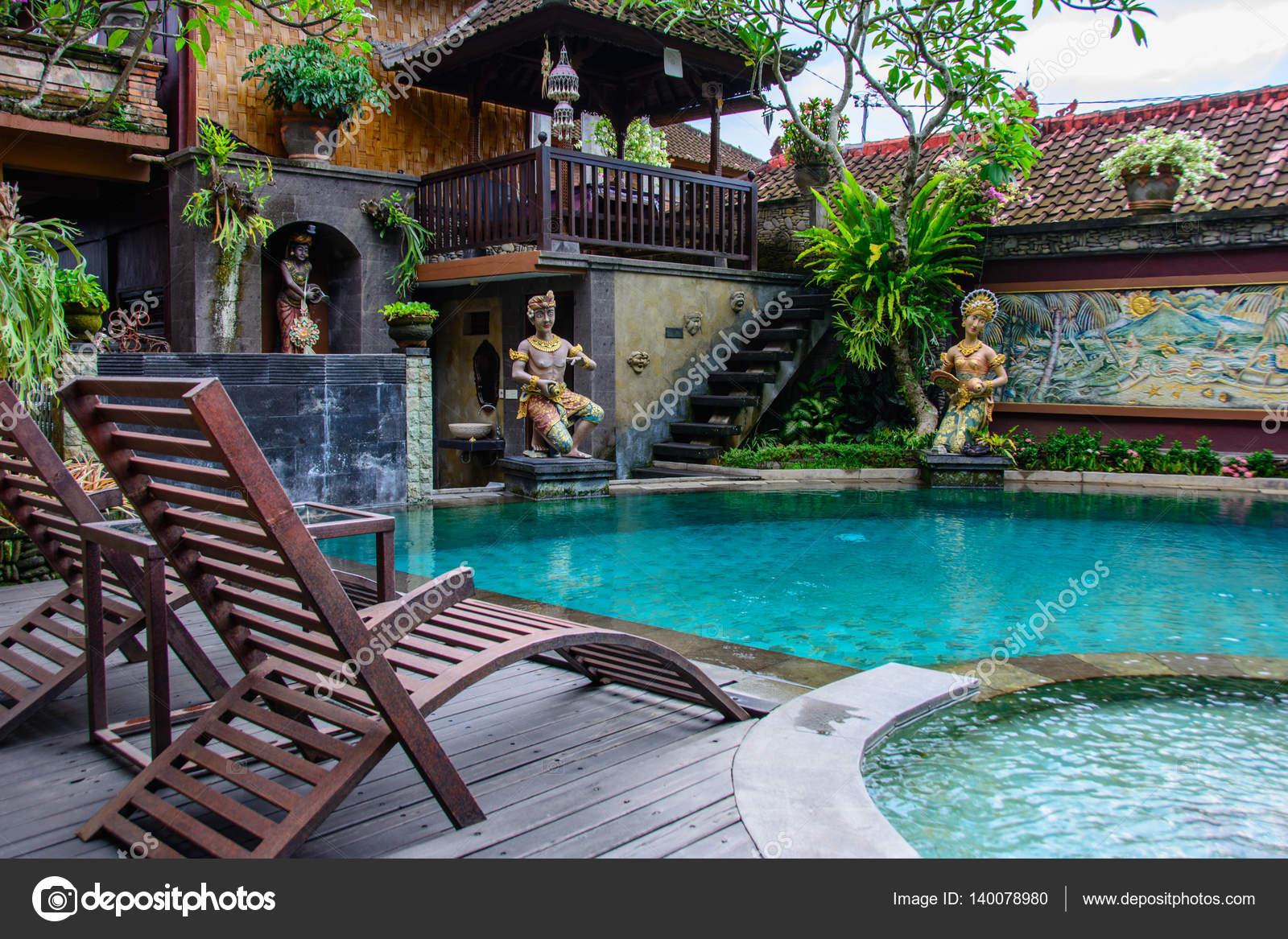 Ubud Bali Indonesien 10 Oktober 2016 Schonen Pool In Einem