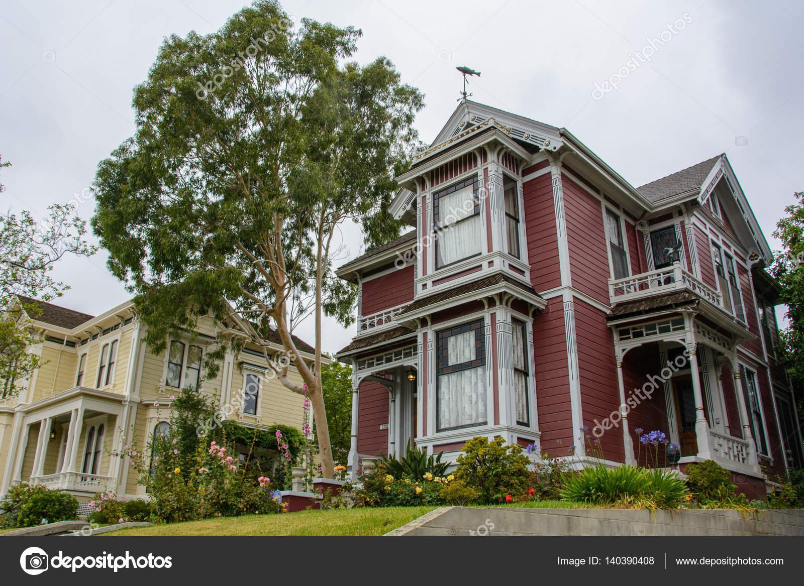 Haus Im Viktorianischen Stil Los Angeles Kalifornien Usa