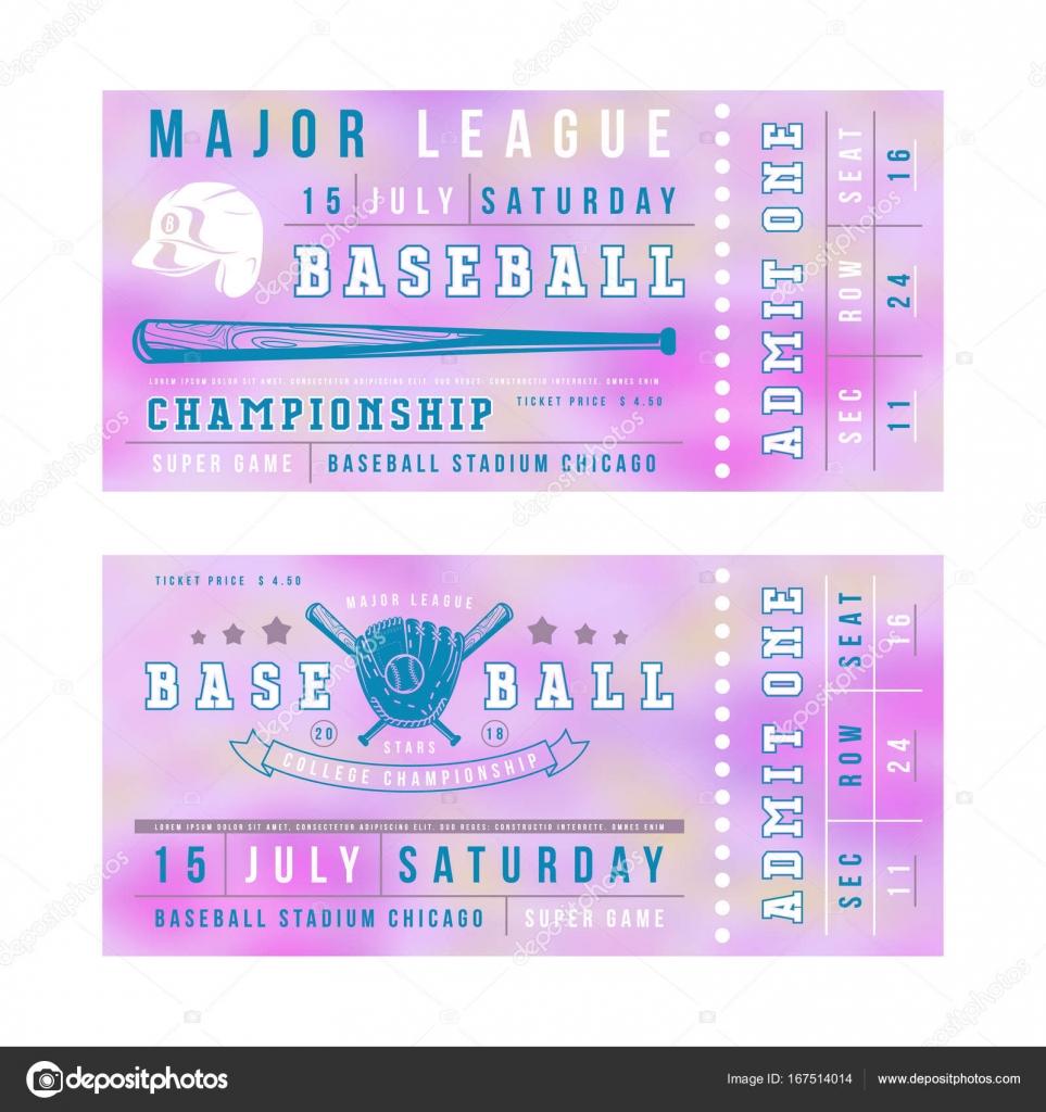Großartig Baseball Ticket Vorlage Bilder - Beispiel Wiederaufnahme ...
