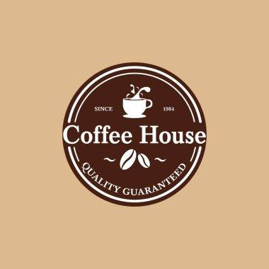 Coffee house vintage logo design