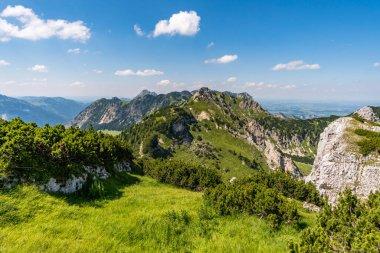 Mountain tour over the Rote Fluh and the Friedberg via ferrata to the Scharschrofen in the Tannheim mountains