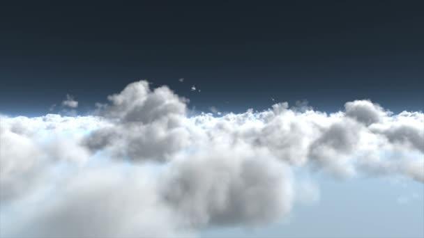 Létání nad mraky.