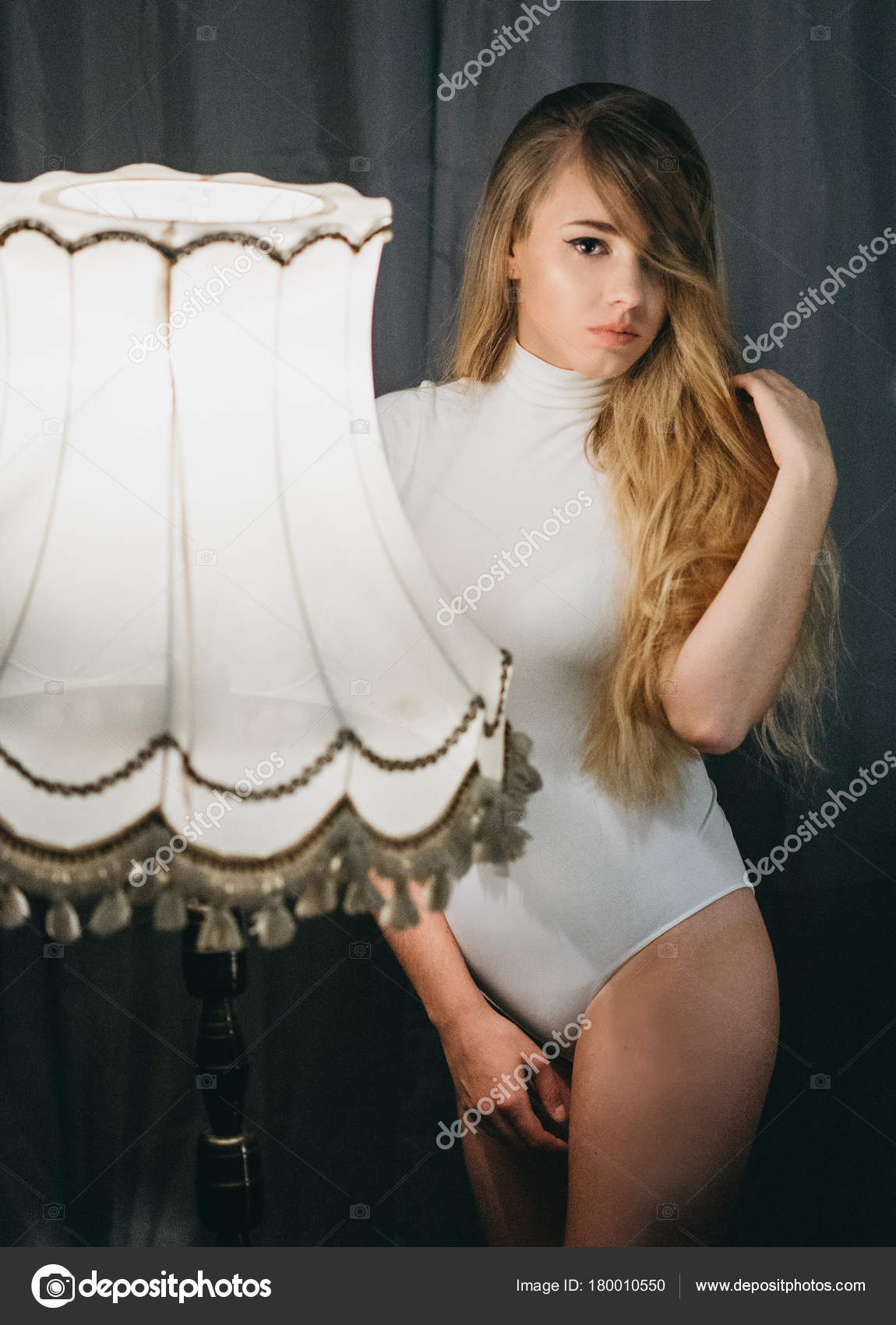 Beautiful Sexy White Girl Stock Image