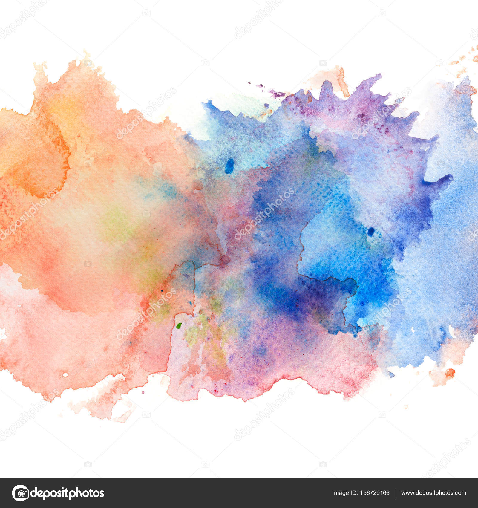Abstract watercolor splash background. — Stock Photo ...