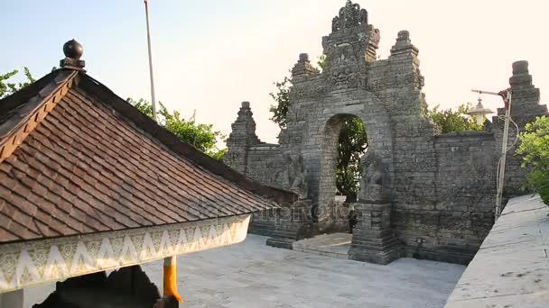 Gate In Pura Luhur Uluwatu Temple On Bali Indonesia