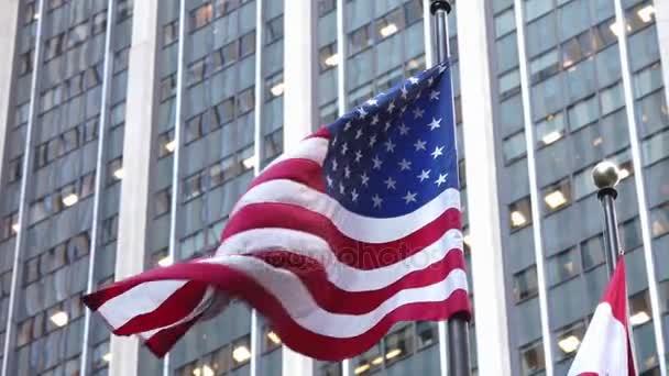 American Flag at New York City