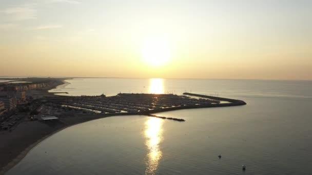 letecký let nad středozemním mořem palavas les flots volný čas přístav přístav francouzský