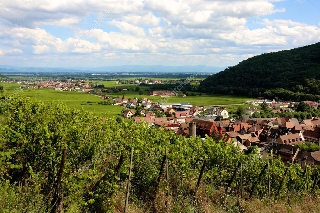 Alsace - beautiful region and holidays destination in France