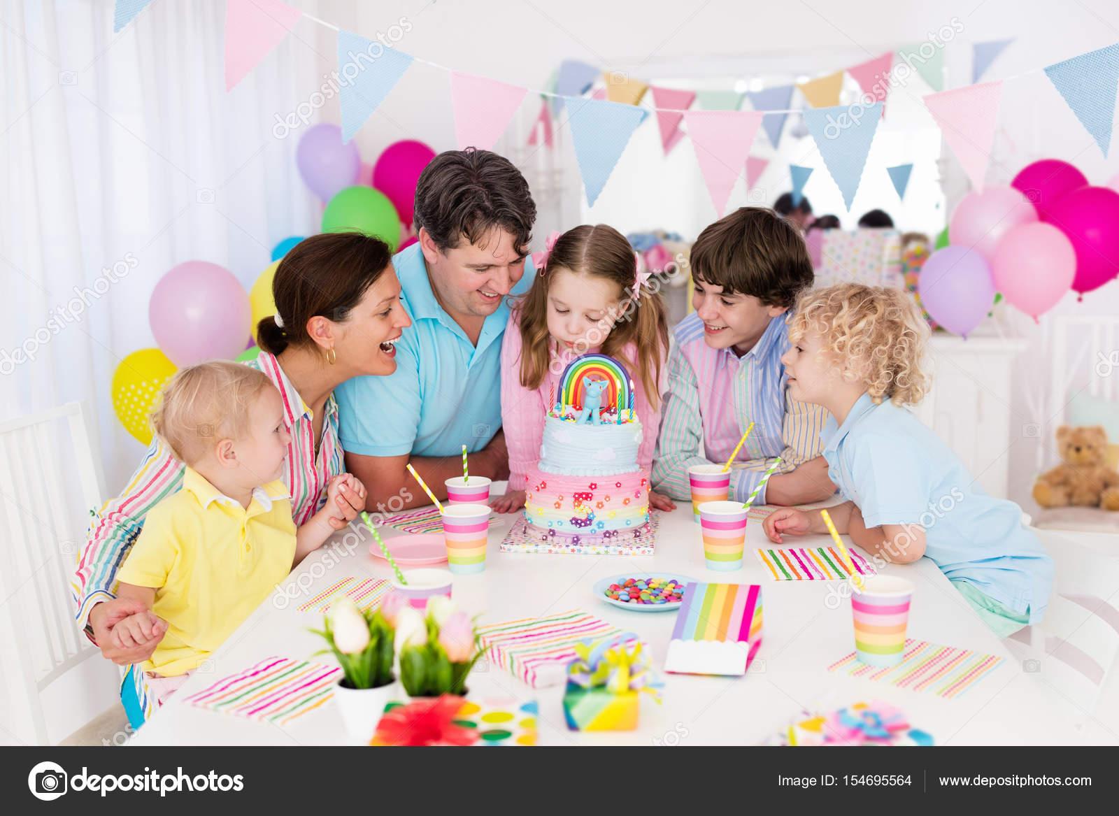 Cumpleanos de ninos familia