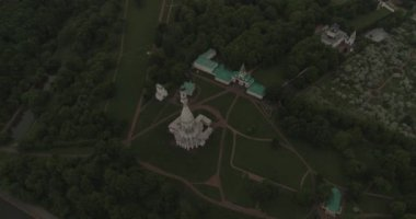 Manor Kolomenskoye letecké