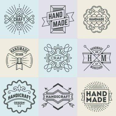 Handmade Craft Logotypes