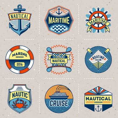 marine nautical logos