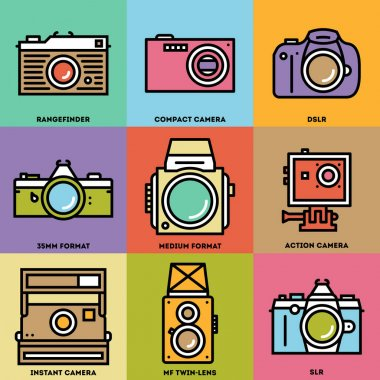 Photo Stuff Icon Set