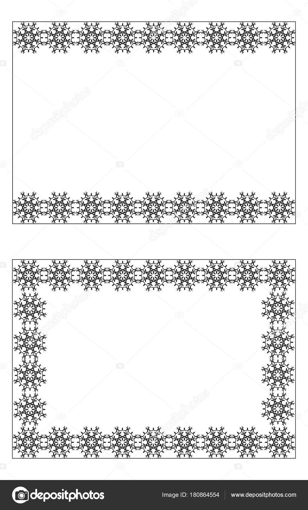 Tarjeta Tablero Ornamento Rueda Círculo Encuadre Invitación ...