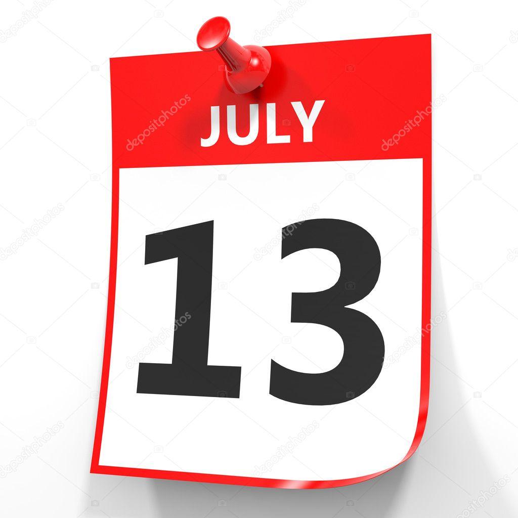 13. Juli