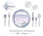 Tradiční neformální zasedací pořádek