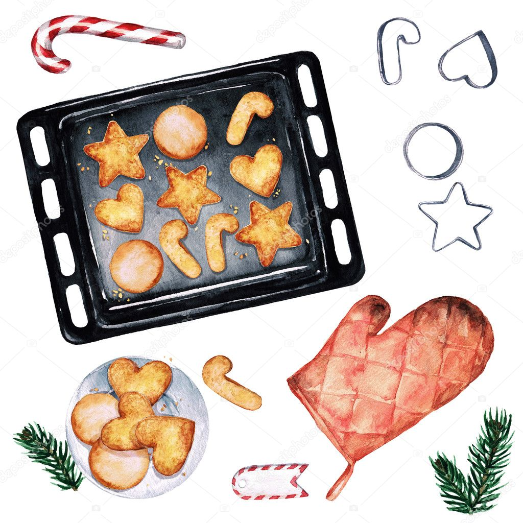 Baking Christmas Cookies Clipart.Clipart Christmas Cookies Baking Christmas Cookies