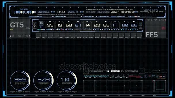UI Data Multi Screen Dashboard Oanel