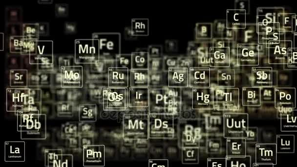 Periodic table elements 4k animation of concept of mendeleev periodic table elements 4k animation of concept of mendeleev periodic table chemistry stock urtaz Choice Image