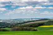 Blick auf Chemnitz in Sachsen