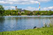 Schlosspark Chemnitz in Ostdeutschland