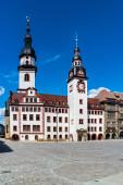 Rathaus aus Chemnitz in Ostdeutschland