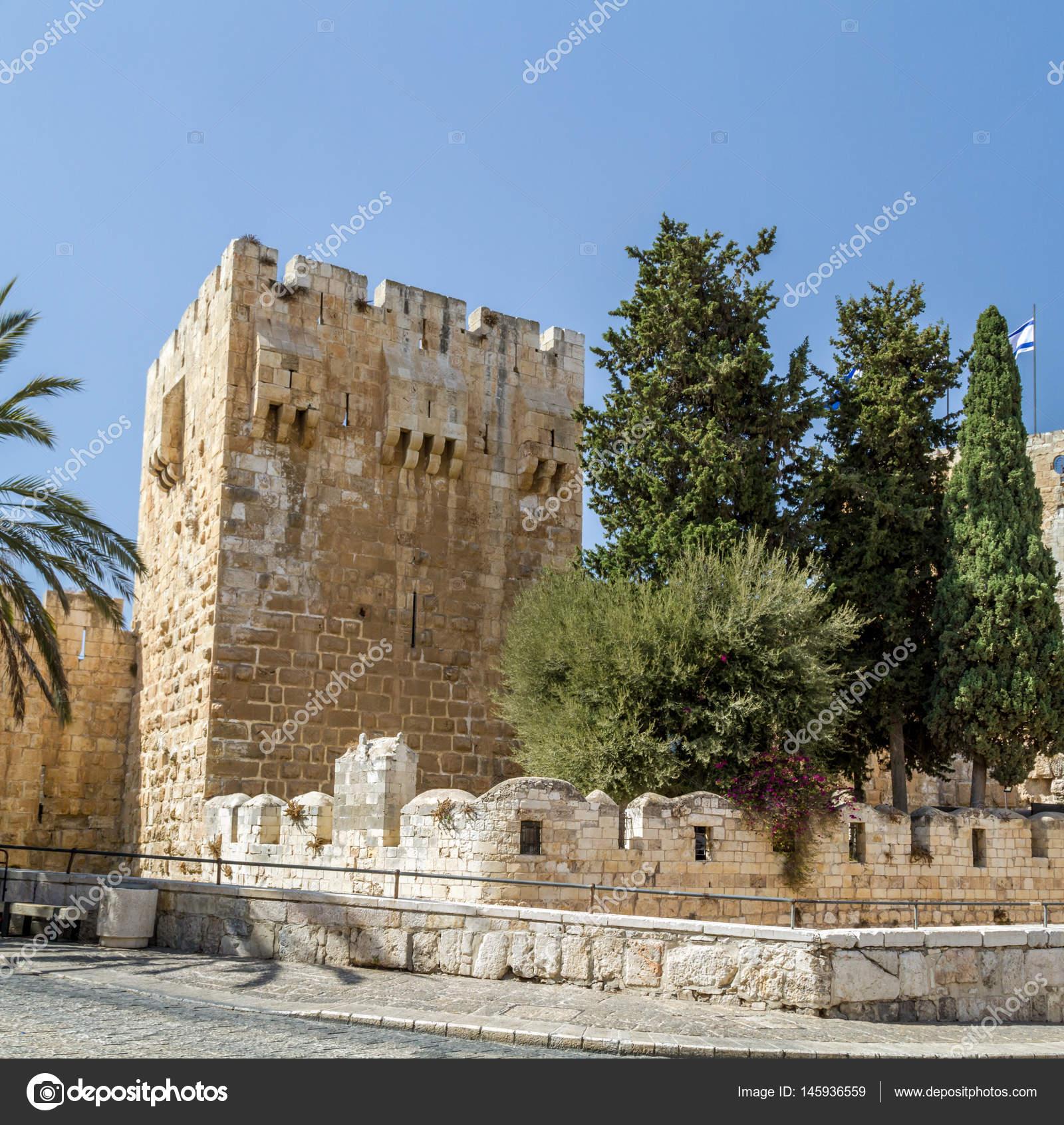 エルサレムの城塞、エルサレム、...