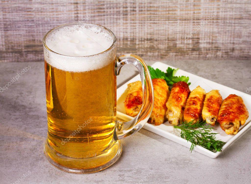 Гифка пиво с закуской, открытка для