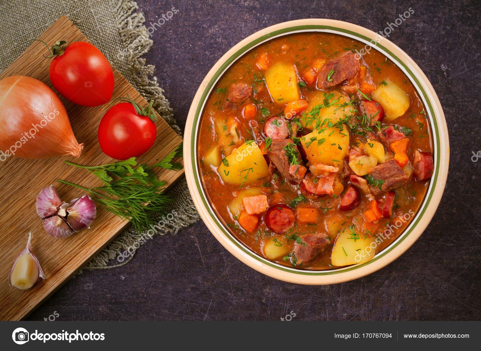 Gulaş çorbası tarifi