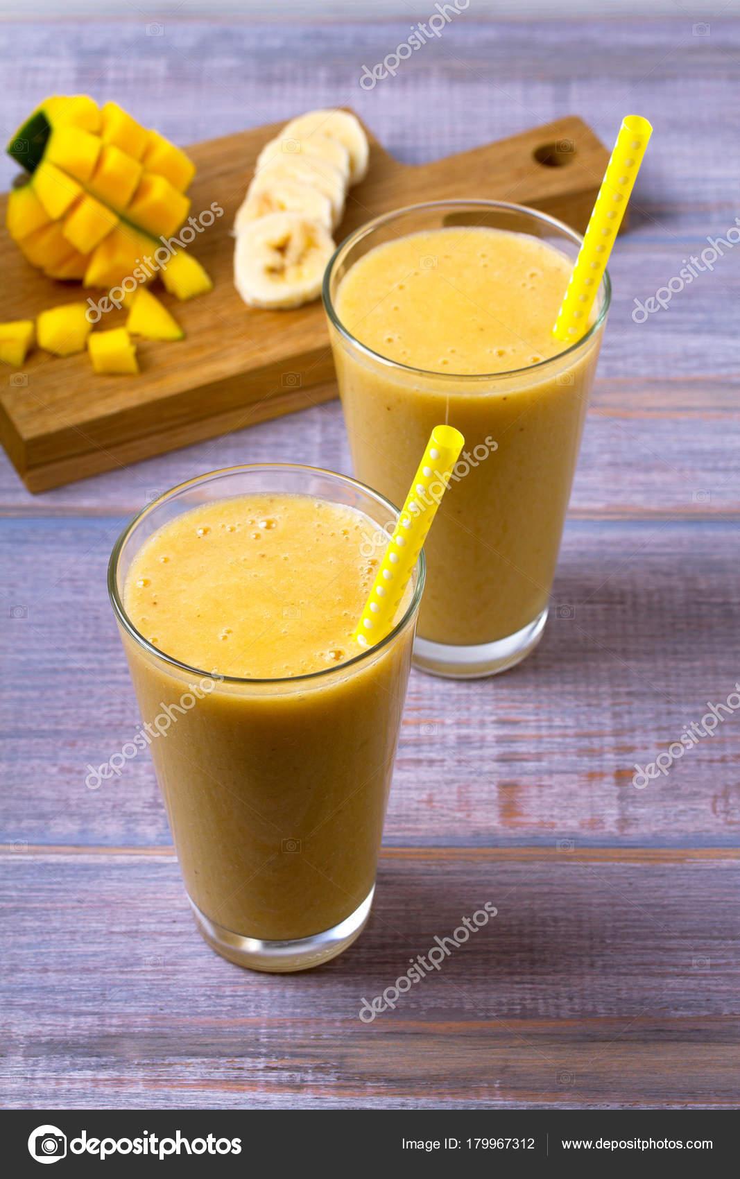 banan och mango smoothie