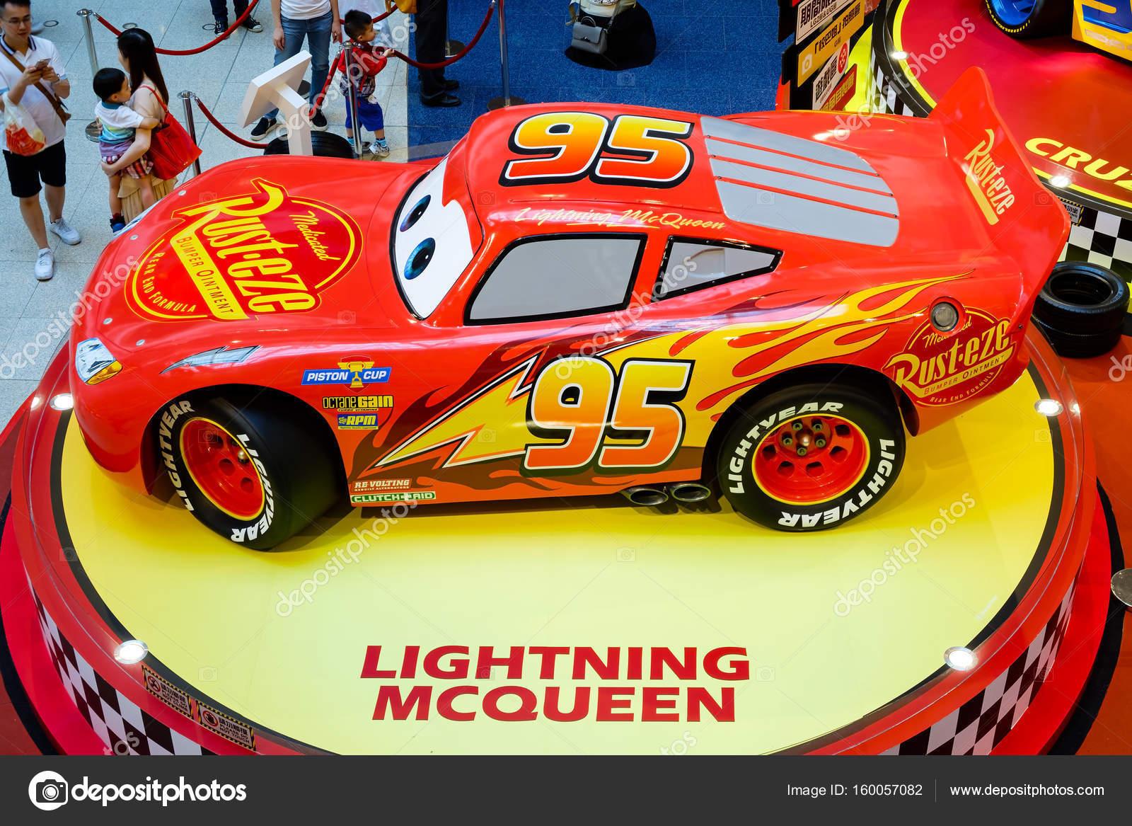 Disney Pixar Feature Film Cars 3 Racing Mania Displays The Event At
