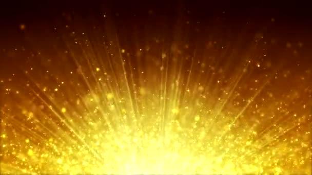 Vánoční pozadí Bokeh - zlato