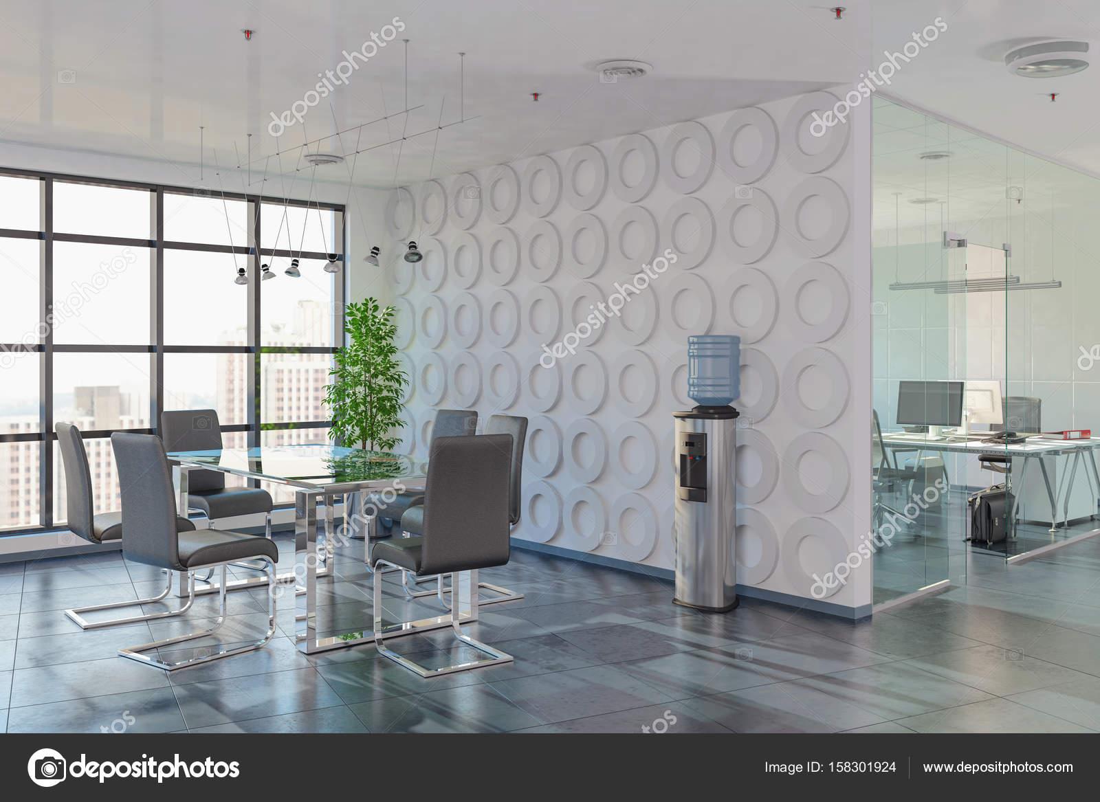 open floor office. 3d Render - Open Plan Office Building Modern Architecture. \u2014 Photo By Marog-pixcells Floor