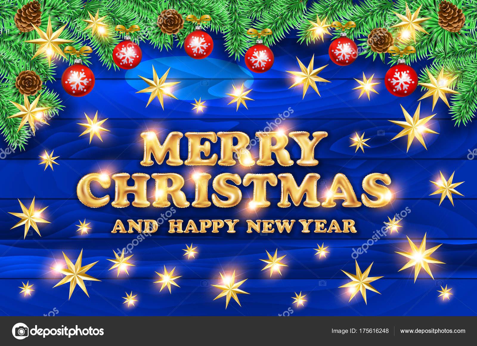 Frohe Weihnachten 3d.Frohe Weihnachten Vektorgrafik Mit Typografie 3d Design Und Urlaub