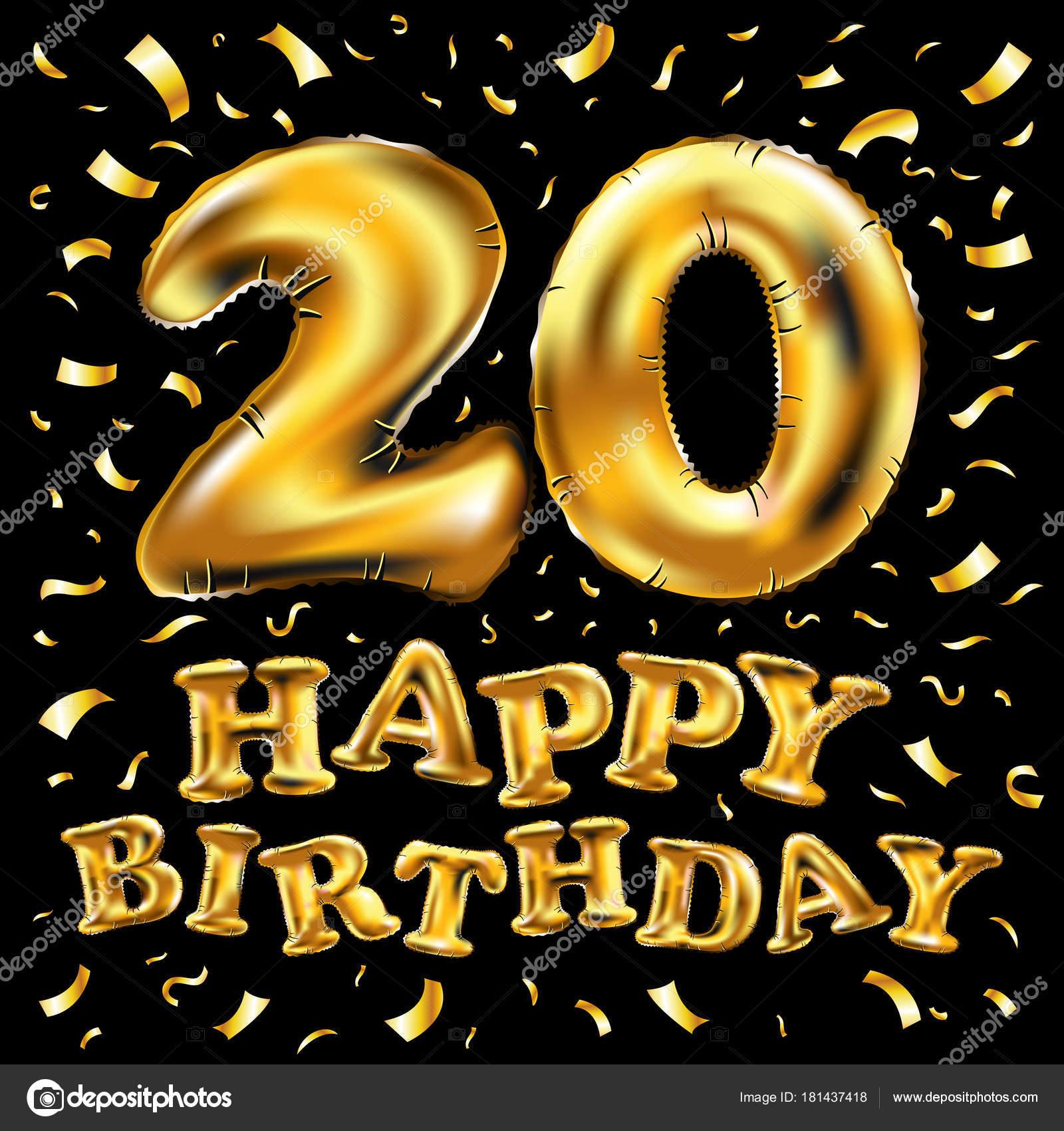 с днем рождения 20 картинки