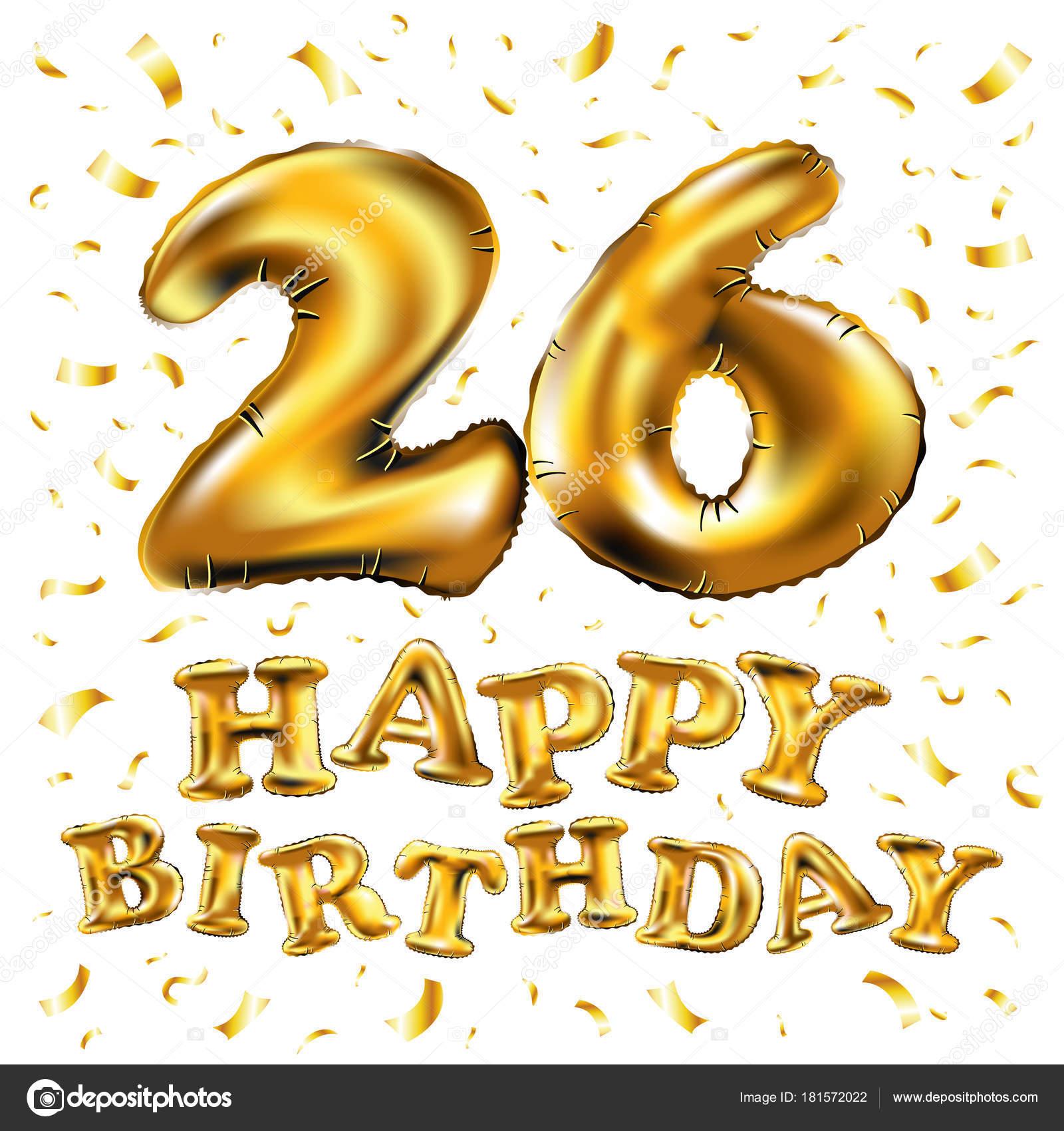 Поздравить с днем рождения 26 лет девушке