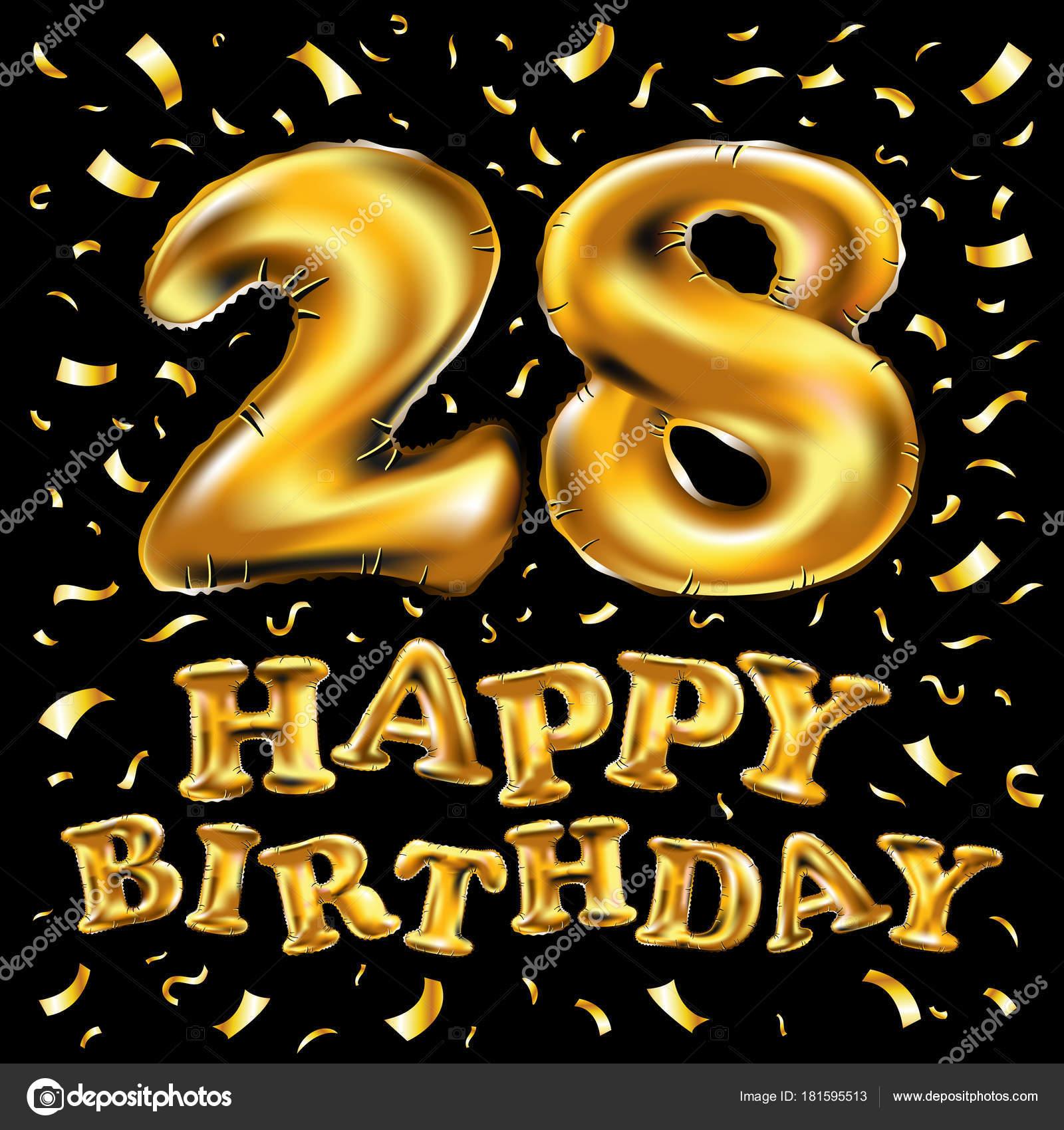 Прикольные поздравления с днем рождения 28 лет