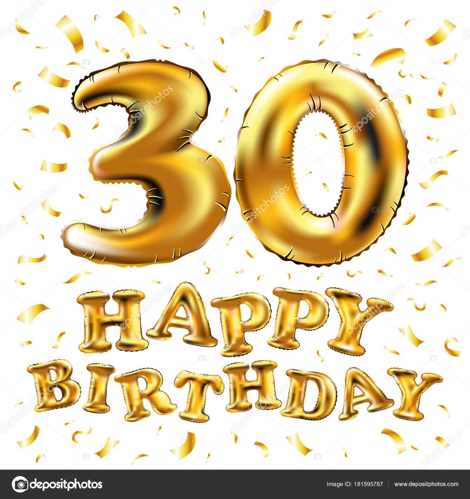 Feliz cumpleanos en tus 30 anos
