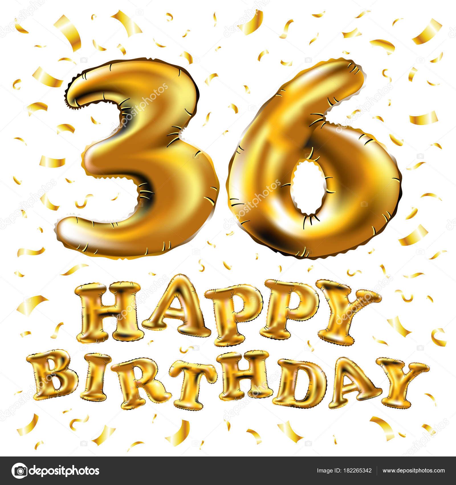 Поздравления женщине 36 лет с днем рождения