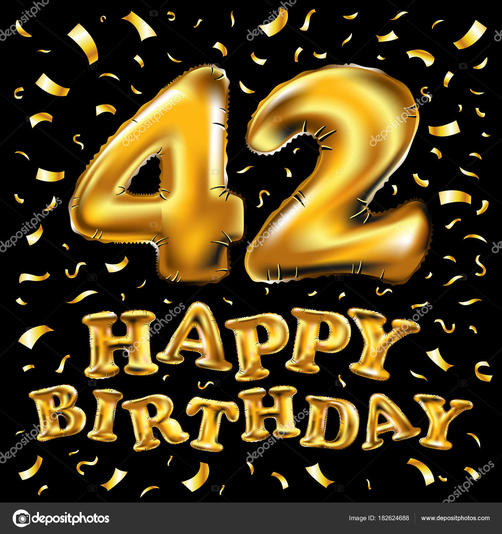 Смешные поздравления на 42 года