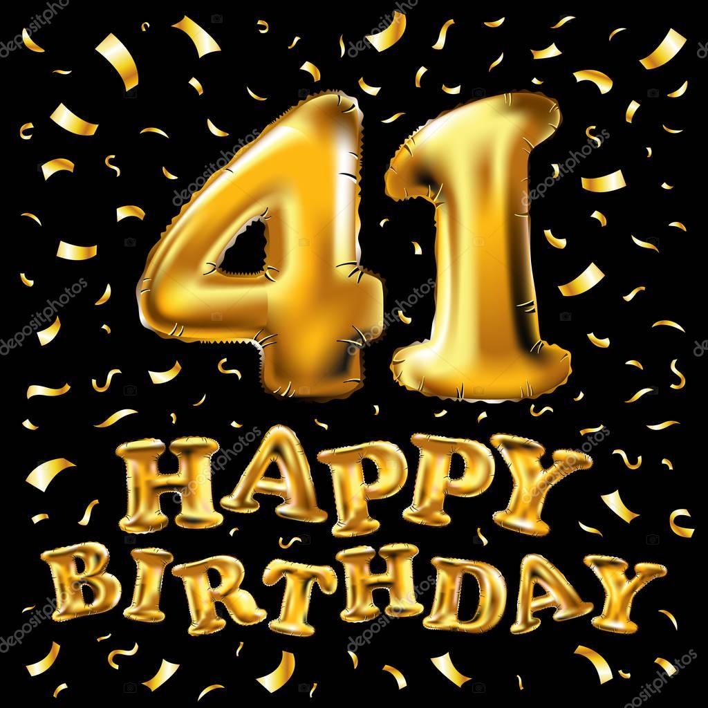 Открытки на день рождения 41 год, своими руками