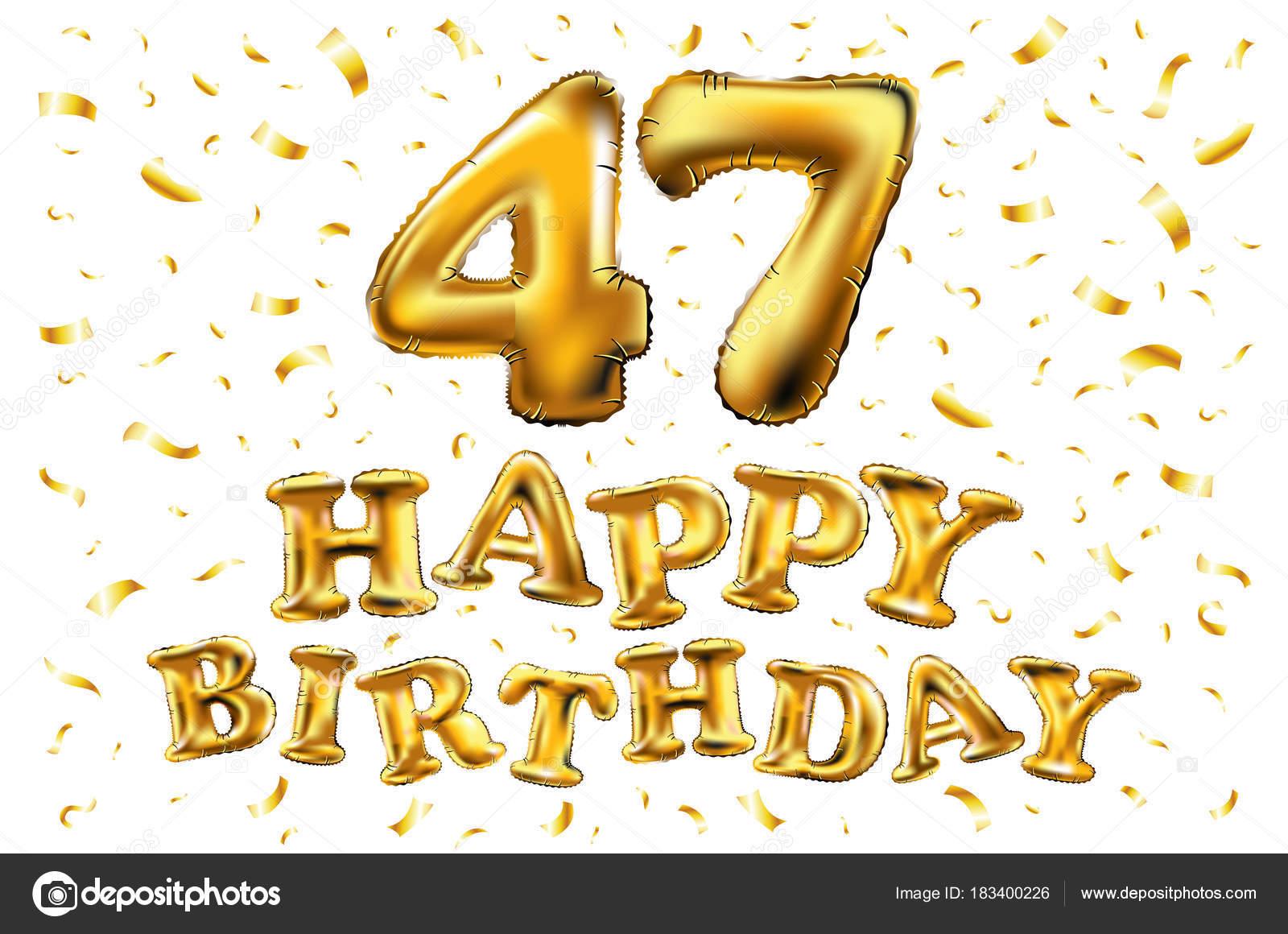 Поздравление с днем рождения 47 лет стихи прикольные