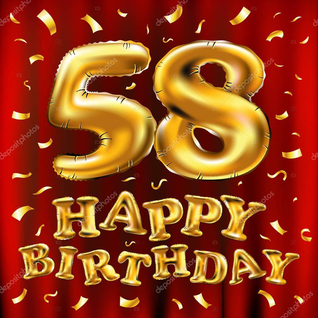 С днем рождениям открытка 58 лет, андрея прикольная