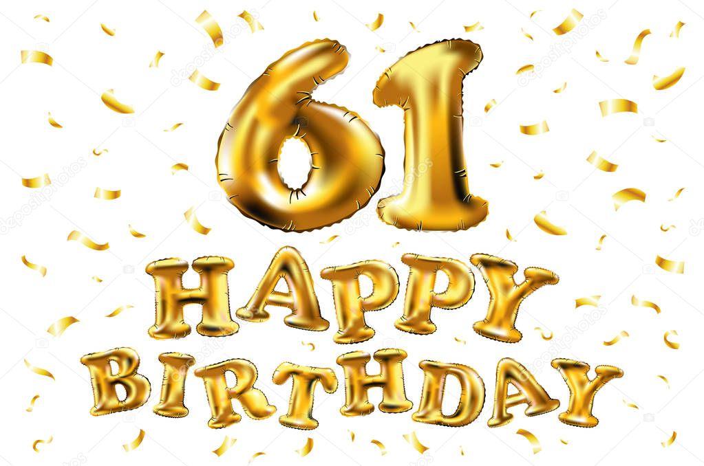 Картинки на день рождения 61 год