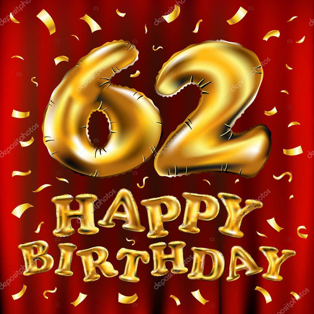Открытки с днем рождения 62, прикольные днем
