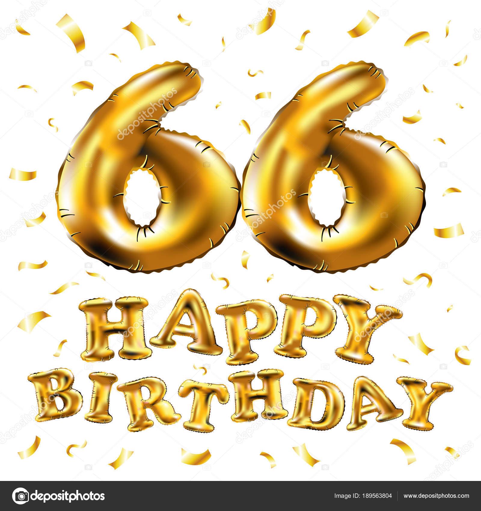 Поздравлением с днем рождения 66 лет