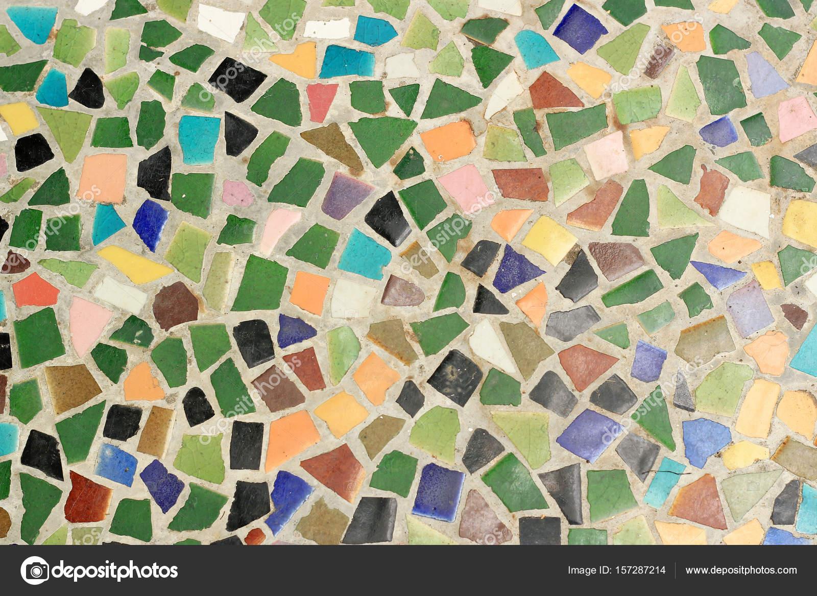 Pared De Mosaico Decorativo Foto De Stock Gap 157287214
