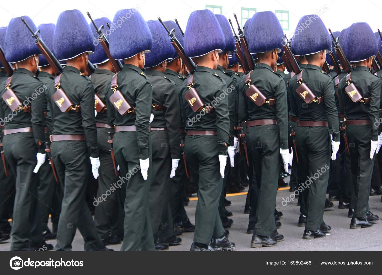 The Motion of Royal Thai Army – Stock Editorial Photo © Gap